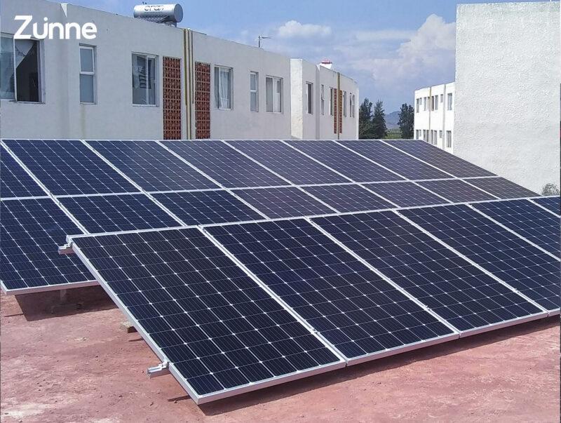 Energía con celdas solares GDL