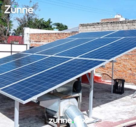 Proyecto fotovoltaico en residencia
