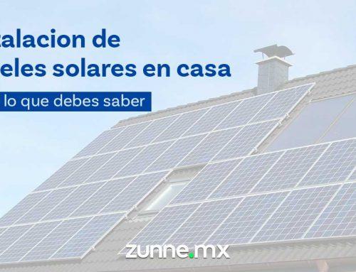 Paneles solares para casa | Todo lo que debes saber
