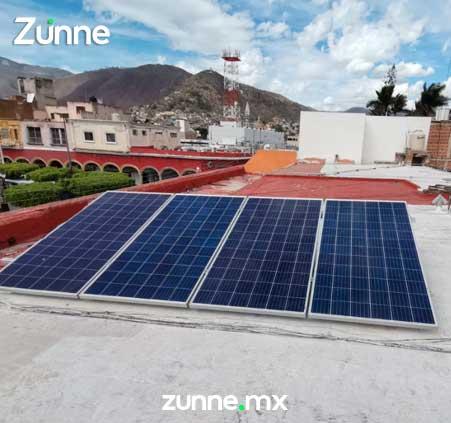 Instalacion de celdas solares en casa