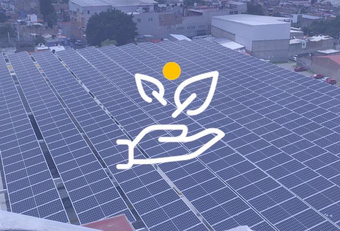 instalación fotovoltaica para gobierno en México