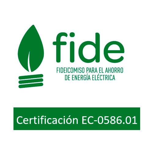 Certificado FIDE Energía Solar