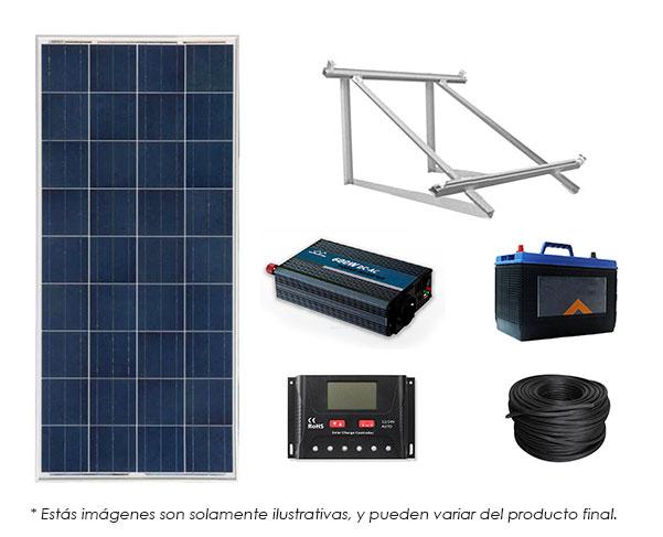 Kit paneles solares autonomos
