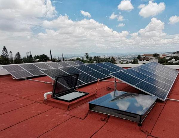 Caso de exito paneles solares residencial