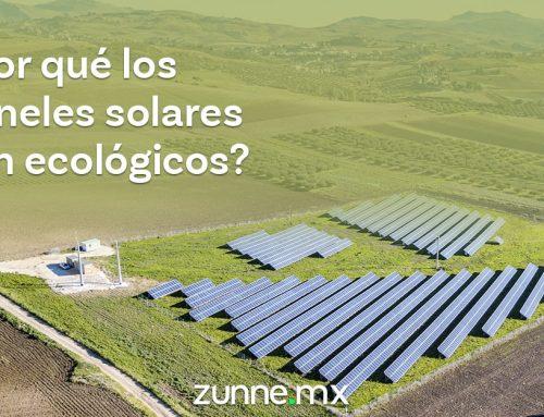 ¿Por qué los paneles solares son ecológicos?